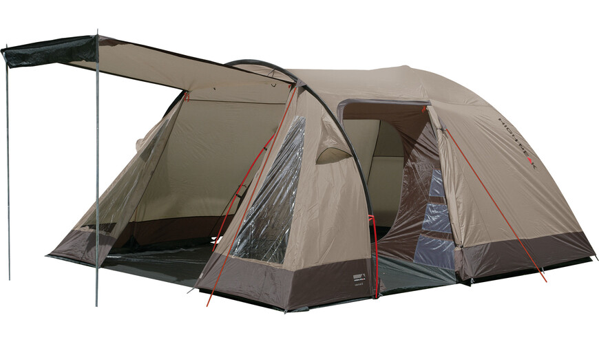 High Peak Caurus 4 - Tente - beige/marron